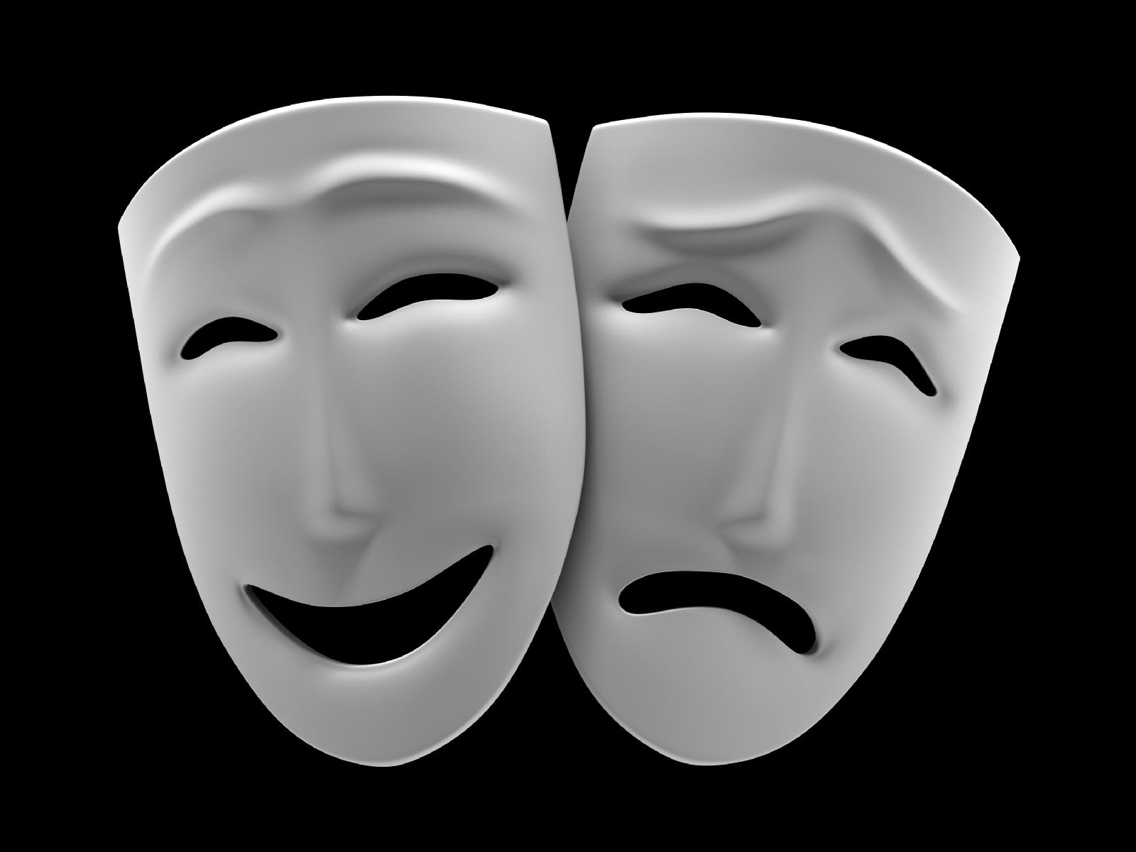 маски эмоций картинки белые такие